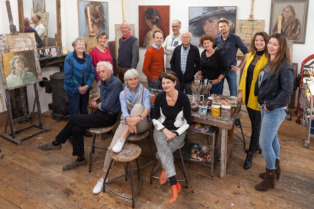 Expositie Koepel - Kunstlijn Lunteren