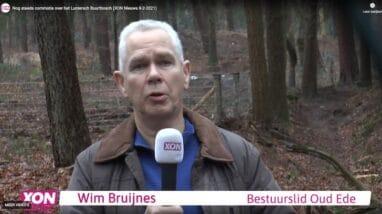 Raadsleden en bestuurslid Oud Ede stellen vragen over afsluiting wandelpaden en beschadiging Wildwal